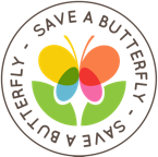 Save a Butterfly Logo